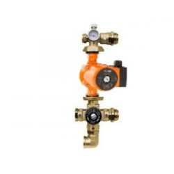 Pamaišymo mazgas grindinio šildymo kolektoriui, Barberi 25-65